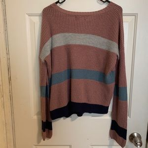 Sweaters - Striped Colored Sweater